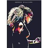 Carteles campeonato de tenis Serena Williams impresiones artísticas de pared pintura para decoración de habitación impresión 50 × 70 cm(20 × 28 pulgadas)sin marco