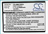 TECHTEK batería sustituye EB615268VK, para EB615268VU Compatible con [Samsung] Galaxy Note, GT-I9220, GT-N7000