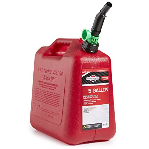 Briggs & Stratton 85053 5-Gallon Gas Can Auto Shut-Off