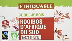 Ethiquable Rooibos Afrique du Sud Bio et Équitable 20 Sachets Max Havelaar parent