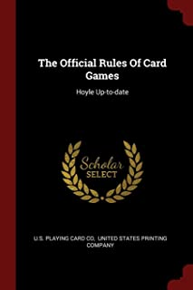 The Official Rules Of Card Games: Hoyle Up-to-date
