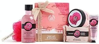 The Body Shop British Rose Pampering Essentials Body Yogurt Soap hand cream shower gel Gift SET