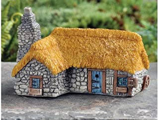 miniature thatched cottages