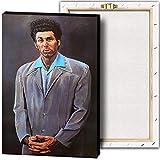 Kramer Seinfeld Poster und Drucke, Wandkunst, Leinwand,