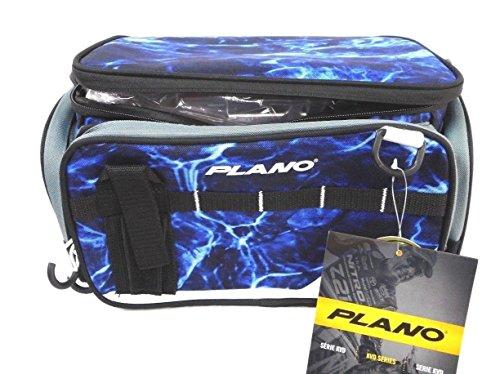 KVD Plano Soft Sided Tackle Bag 3600 Series Weekend Fishing Box (Blue Wave)