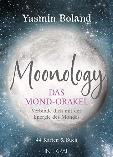 Moonology – Das Mond-Orakel: Verbinde dich mit der Energie des Mondes - 44 Karten & Buch (128 Seiten)
