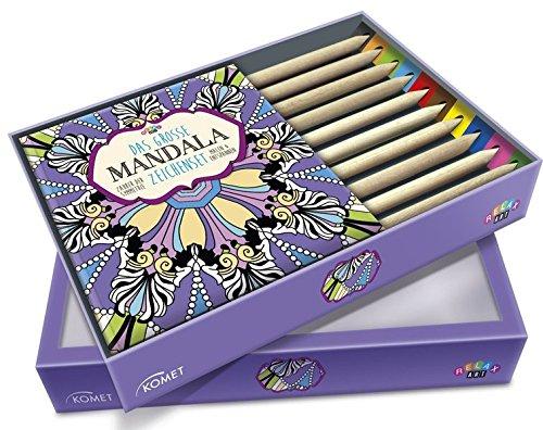 Das große Mandala-Zeichenset: Zauber der Symmetrie - Malen & Entspannen