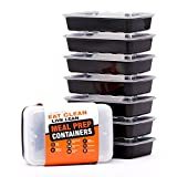 Evolutionize Healthy Meal Prep Containers - Certified BPA-free -...