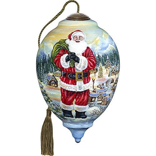Ne'Qwa Claus is Coming to Town Ltd Ed Santa Ornament