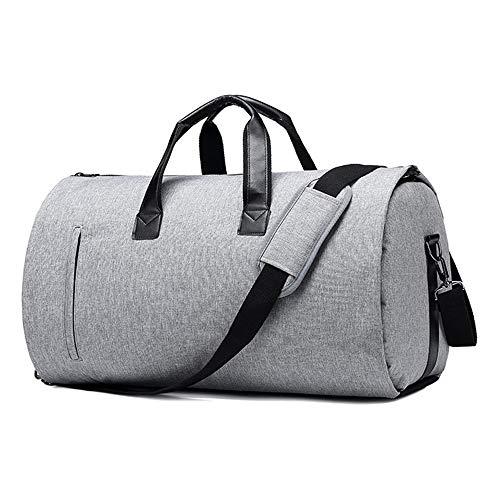 LANGYINH Kleding Tas met Schouderband en met Shoe Pouch,2 in 1 Hangende Koffer Suit Reistassen voor Mannen Vrouwen