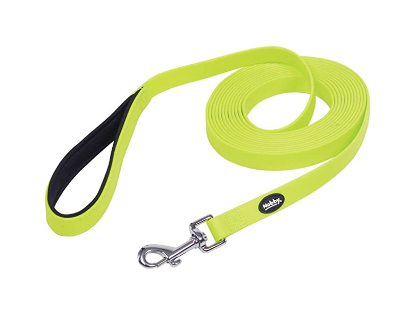 Nobby Cover Tracking Leash, 5 m/20 mm, Neon Yellow
