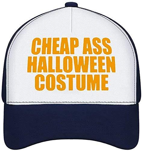 MODORSAN Gorra Unisex Gorra de bisbol de Goma doblada para Adultos Disfraz de Halloween Estilo Azul Marino