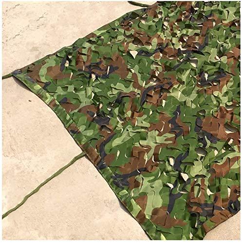 HTTWZW Camuflaje en Redes for los niños, Woodland 2x4m Acampar al Aire Libre de Camuflaje Netos/Shooting Oculta Militares camuflan netas tamaños múltiples W8Z8W8 (Color : Re, tamaño : 6 * 6m)