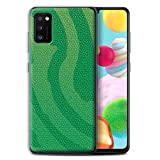 Phone Case for Samsung Galaxy A41 2020 Reptile Skin Effect