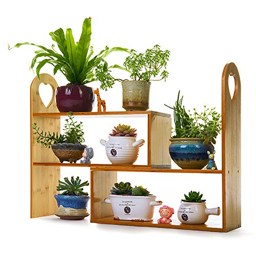 Wooden Three Layer Plant Holder