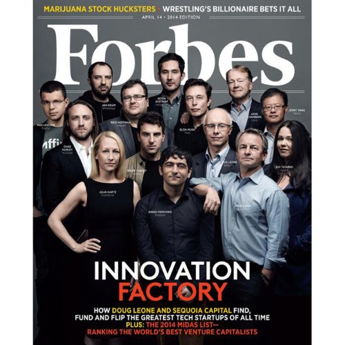 Forbes, March 31, 2014 audiobook cover art
