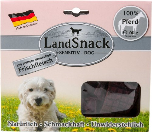 LandSnack | Dog Sensitiv Pferd | 60 g