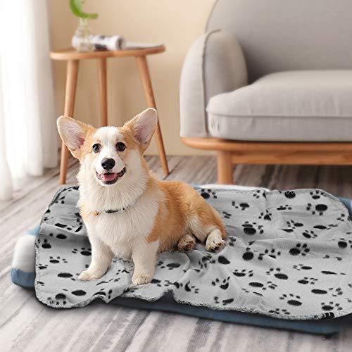 Product Image 4: Comsmart Warm Paw Print Blanket