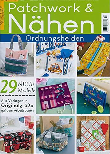 """Patchwork und Nähen 4/2021 \""""Ordnungshelden 29 neue Modelle\"""""""