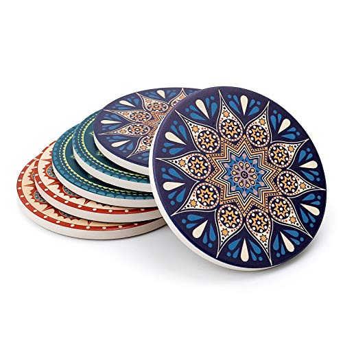 Set of 6 Teocera Drink Coasters Now $9.35