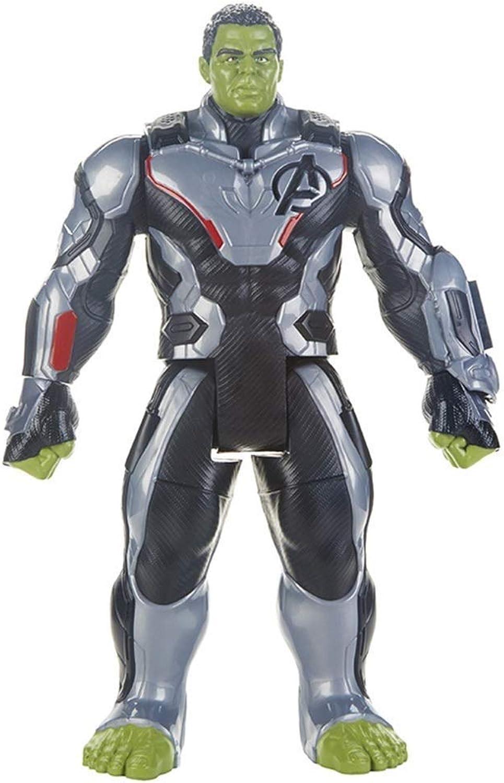 perfecto LIUYUN Colección De Modelos De Juguetes para para para Niños Miracle Avengers Hulk Mobile Character  alta calidad