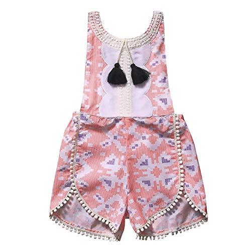 Baby Girl Dungarees Summer Mono General Ropa de Moda