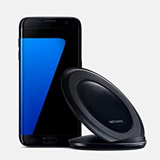 Black Qi 5mm Wireless Charging Pad Fast Charger Stand Dock For Samsung Galaxy S6 S7 S7 Edge / NOTE 5