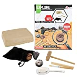 Toi-Toys Juego de excavación Fossilien para experimentar, aprendizaje, aprendizaje familiar, juego educativo para niños a partir de 6 años