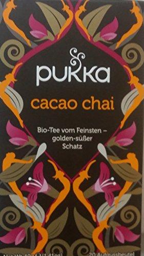 Cacao Chai PUKKA Bio 4er Pack à 20 Teebeutel