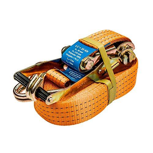 Sjorband, spanband met ratel 2565 voor bevestiging 10 m lang, 50 mm breed