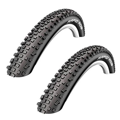 Unbekannt 2 Stück Schwalbe Rapid Rob Fahrrad Reifen 54-622 // 29 x 2,1