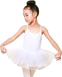 Tiaobug Ragazza Gonnellino a Portafoglio da Danza e Balletto per Bambine Donna Ragazza Ginnastica Elegante Elastico Bianco Nero Tutu Tulle Rosso