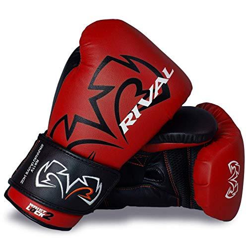 RIVAL Boxhandschuhe RS11V Evolution Training Sparring Training Handschuhe Rot - Rot, 16oz