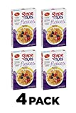 Grape Nuts Post Flakes Breakfast Cereal, Whole Grain, Heart Healthy, 18 Ounce Box (Pack Of 4)