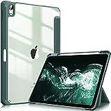 FINTIE Coque pour iPad Air 2020 4ème Génération, Housse Transparent Etui iPad Air 4 Anti-Choc,...
