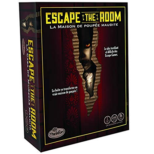 Ravensburger Escape The Room - Casa de muñecas Maldita, ThinkFun, a Partir de 13 años-76372
