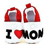 Zapatos - Bebés - I Love Mom - Ti Amo Mamma Blanco Size: 6-9 mesi