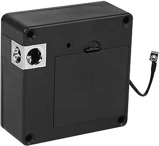 Cabinet Drawer Lock, Home Office RFID Smart Hidden Drawer Locker Intelligent Cabinet Lock Baby Safety Locks Electronic Invisible Reader Black
