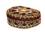 Egypt Bazar Traditionelle Arabische Kopfbedeckung - Araber - Karnevalskostüm/Farbe: braun