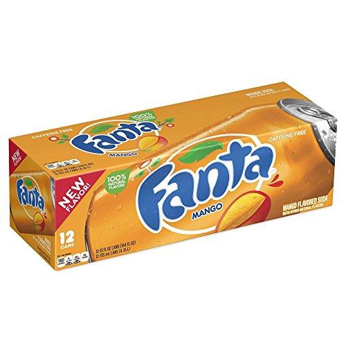 Fanta Mango 12 x 355 ml inkl. DPG-Pfand