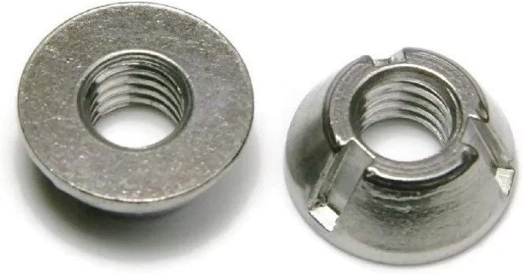 Tri-Groove Tamper Proof Security National uniform free shipping Nuts 316 1 Steel 2