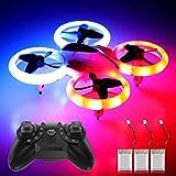 Best Kids Drones - Mini Drones for Kids Beginners 3 Batteries RC Review