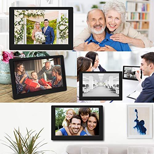 Digital Photo Frame, 10 inch Digital Picture Frame HD 1280x800 16: 10 Full IPS...