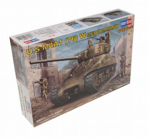 Hobby Boss 84801 Kit de modélisme U.S M4A1 76(W) Tank
