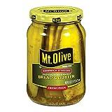 MT. OLIVE Sandwich Stuffers, Bread & Butter Jar, 16 oz