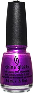 China Glaze Rebel Collection Nail Lacquer, Purple Fiction
