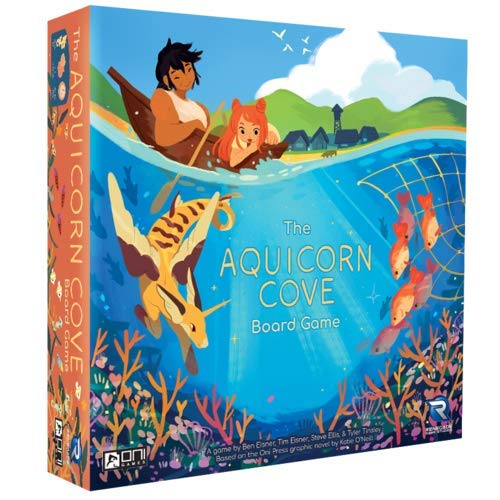 Renegade Game Studios Aquicorn Cove Game for 2-4 Players Aged 10 & Up