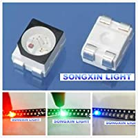 500pcs 3528 RGB POWER TOP 1210 3528 SMD SMT PLCC-2 LED Common Anode Red Green Blue New light-emitting diodes RGB