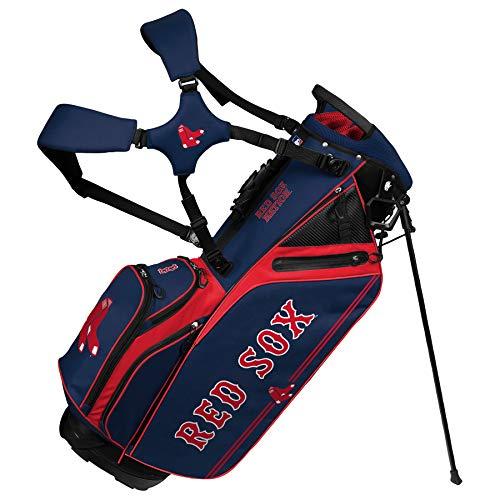 Boston Red Sox Caddie Carry Hybrid Golf Bag