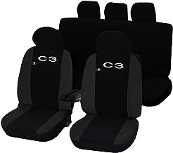 Mr E Saver CITROEN C3 ALL YEARS Heavy Duty Waterproof Single Seat Cover Protector Black